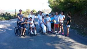 Campamentos discapacitados Fundación Ir a más voluntariado Siempre contigo Valencia