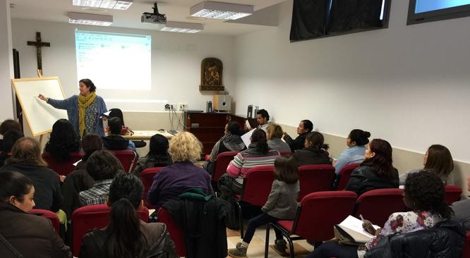 Escuela de acogida Fundación Ir a Más Valencia